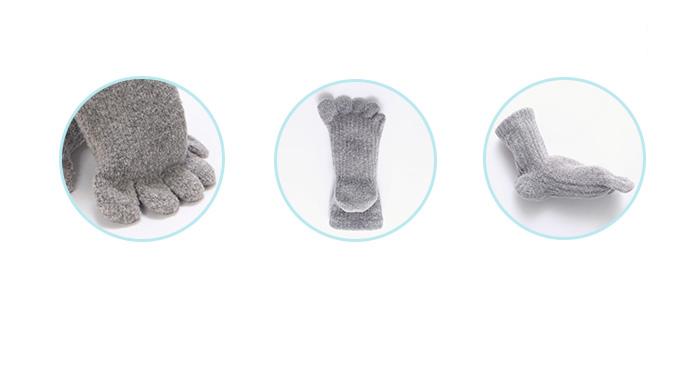 3つの特長 ムレ防止 消臭・保湿加工 実用性◎