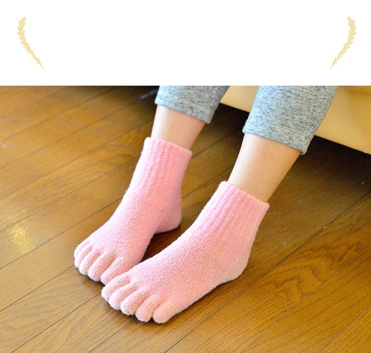 シングルタイプは他の靴下では味わえない温かさ