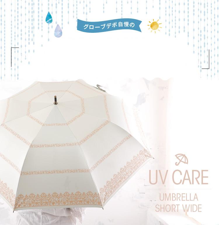 グローブデポ自慢の折り畳み×晴雨兼用傘はこれ1本でこんなにお役立ち