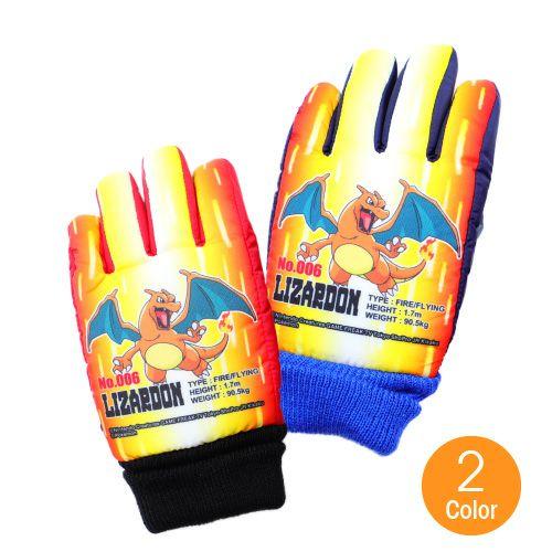 ジュニアキャラクター手袋スキータイプ 選べる2サイズ