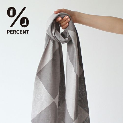 % SCARF POLYGON Lightgray50%&Gray 50%